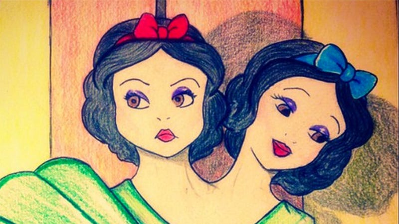 Illustration for article titled Celebrate Halloween With These Disney/AHS: Freakshow Mashups