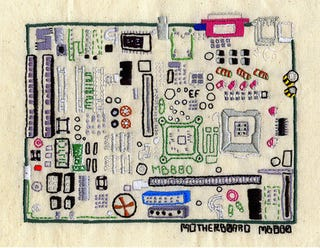Illustration for article titled Open Source Embroidery: Technology Embraces Its Craft Side