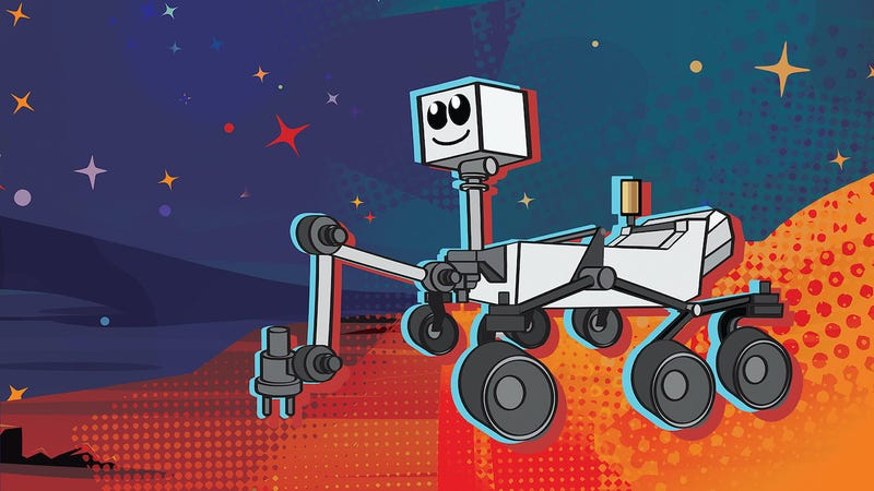 Illustration for article titled NASA Wants You to Pick One of These 9 Names for Its New Mars Rover