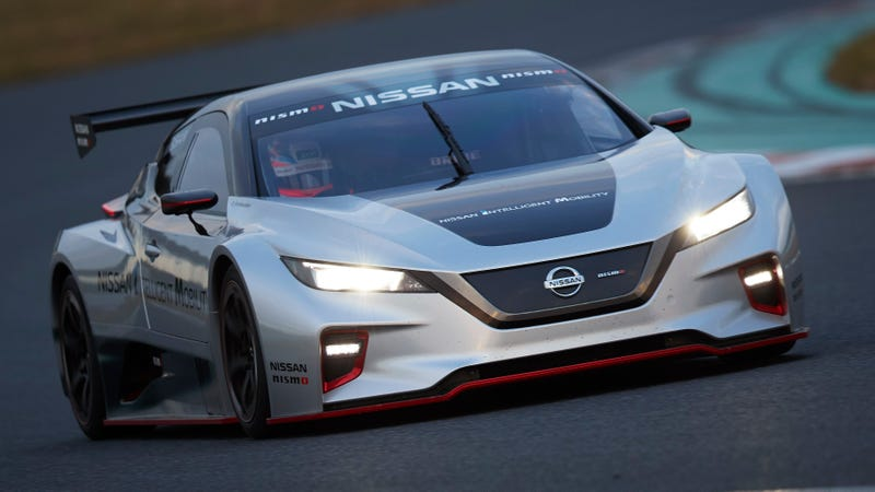 Ilration For Article Led The New Nissan Leaf Nismo Rc Electric Race Car Looks Frickin