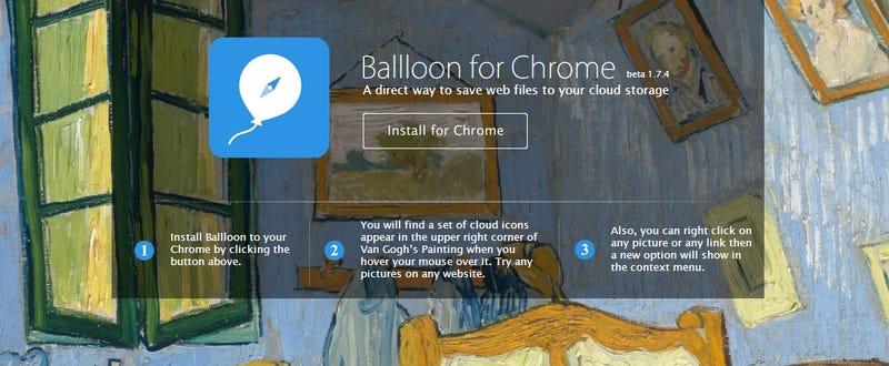 Illustration for article titled Guarda rápidamente cualquier archivo directo en la nube con esta app
