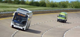 Illustration for article titled Britain's Poo-Powered Bus Hits a Land Speed Record