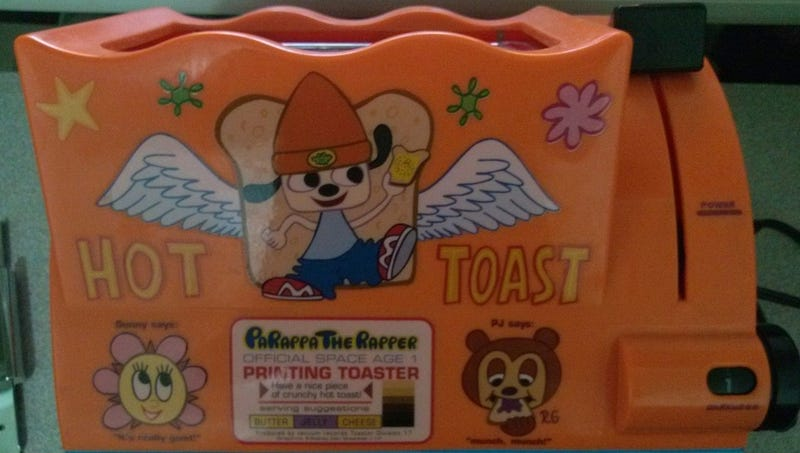 Illustration for article titled Act Fast, And You Can Own This Rare PaRappa The Rapper Toaster