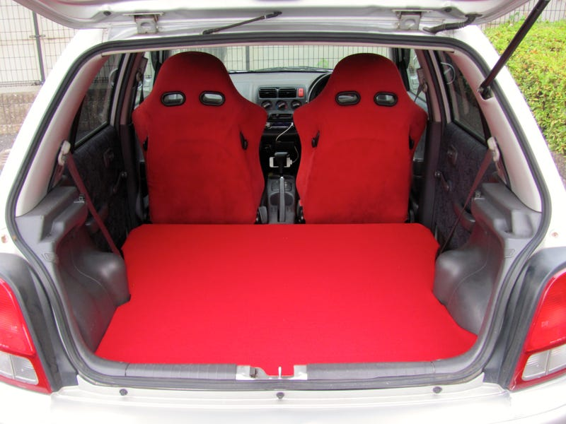 I Doubled My Hatchback Space With A False Floor And Hereu0027s How You Can Too