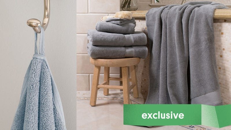 Crane & Canopy Bath Sheets | 15% off with promo code KINJA19Crane & Canopy Classic Towels | $15% off with promo code KINJA19