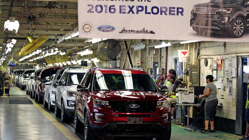 The Ford Chicago Assembly Plant. Photo credit AP