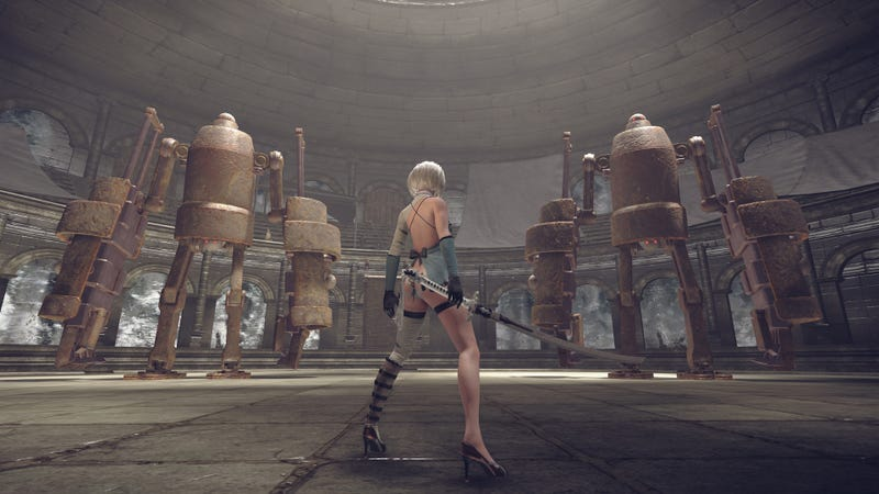 It's really hard for anyone to pull off Kaine's outfit from the first Nier.