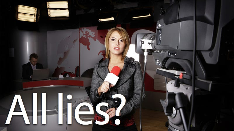 Illustration for article titled Why We Lie More Over the Phone, and Why TV News Pundits Should Watch Themselves