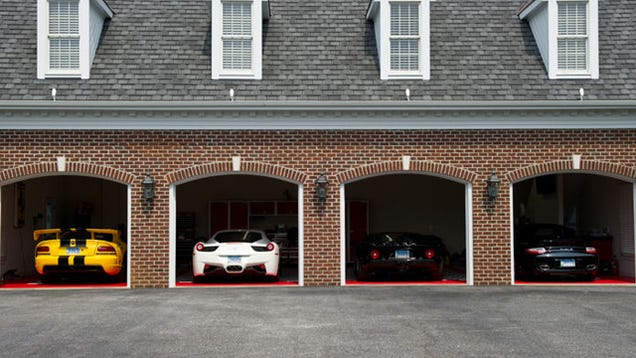 Dream 5 car garage for Five car garage