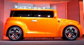 Illustration for article titled Scion Hako Coupe Concept Live Unveil
