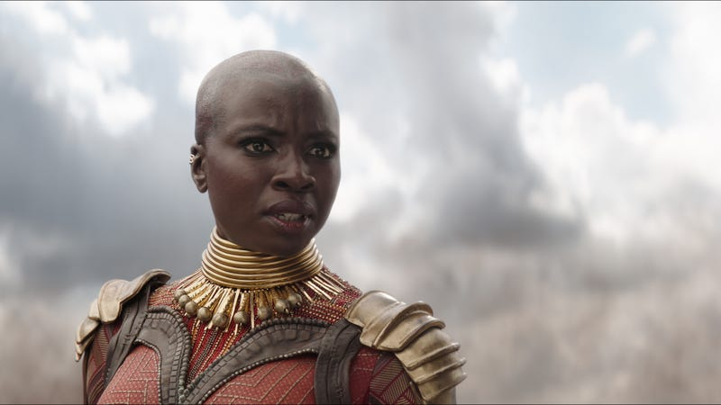 Illustration for article titled Marvel fixes obvious, glaring fuck-up, adds Danai Gurira's name to the new Endgame poster