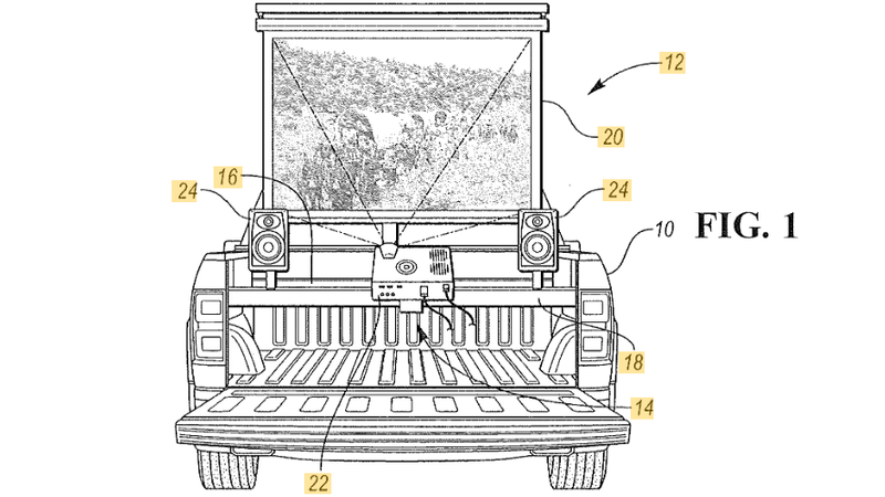 All images from Ford Patent