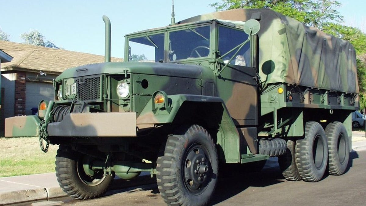 Virginia Beach Stopped A Veteran From Parking A Military Truck He ...