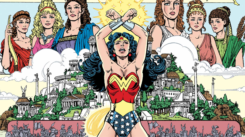 Illustration for article titled The 5 Best (and 5 Worst) Re-Imaginings of Wonder Woman's Origin