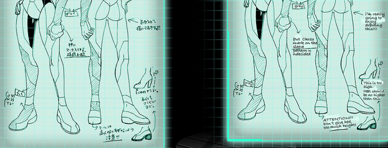 Illustration for article titled Once Upon A Time, Samus Was Suposed To Wear Sensible Boots