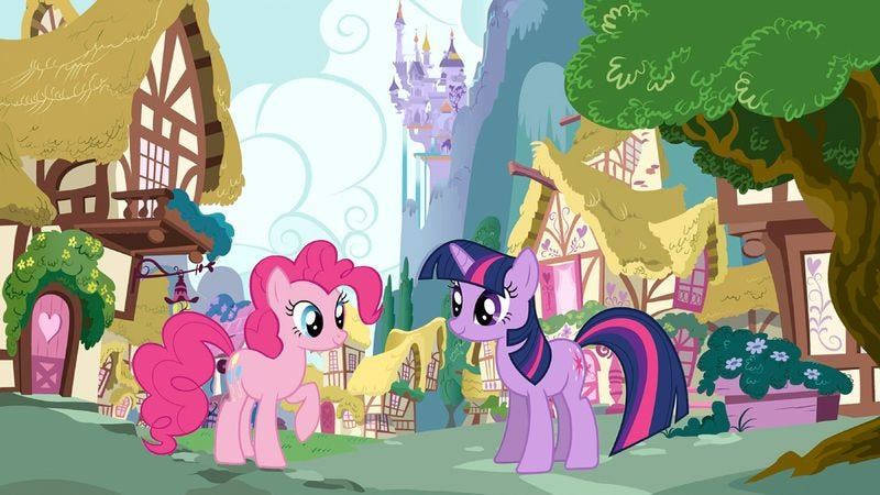Illustration for article titled My Little Pony grows up