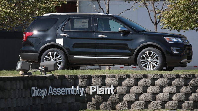 Ford Explorer Recall 2017 >> 1 2 Million Ford Explorers Recalled Due To Suspension Fracturing