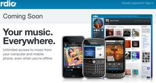 Illustration for article titled Rdio Is an Awesome Social Music Service (and We've Got Invites)