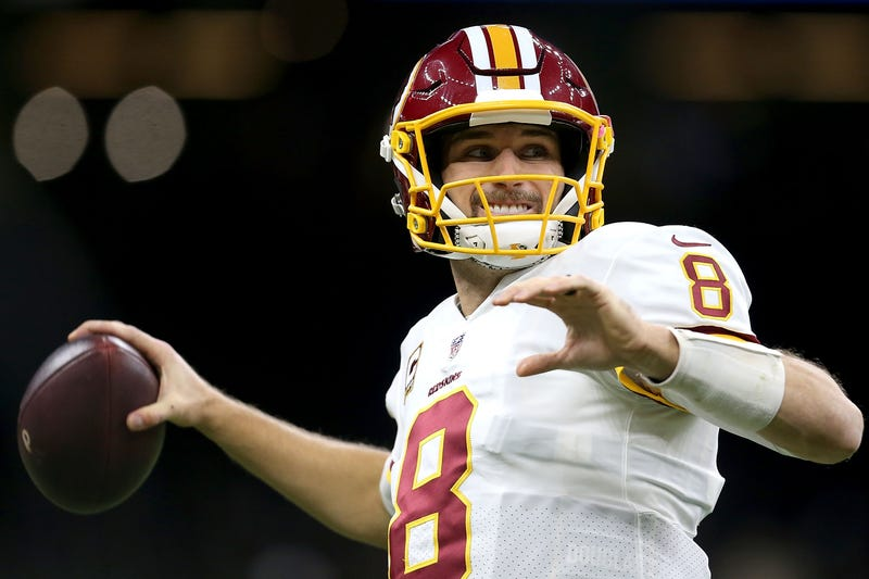 Illustration for article titled Now We Get To See If Kirk Cousins Is Really Worth A Shit