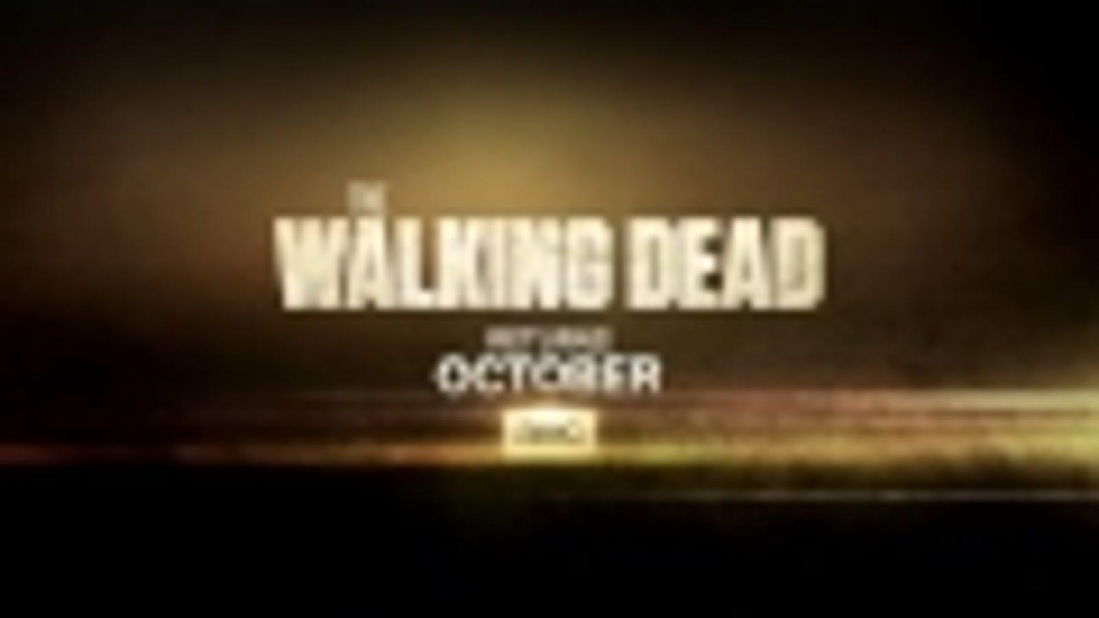 Los zombies regresan en la 5ª temporada de The Walking Dead