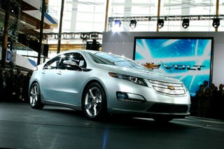 Illustration for article titled Chevy Volt To Get 230 MPG City Fuel Economy Rating