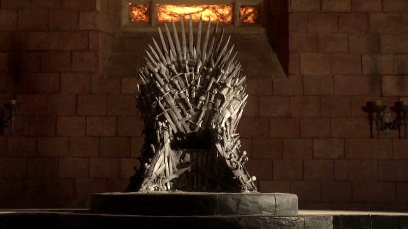 Illustration for article titled New 'Game Of Thrones' Trailer Confirms Season 8 Will Reveal Identity Of Sword-Covered Chair