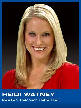 Illustration for article titled Heidi Watney Makes It Through Her First Night Unscathed