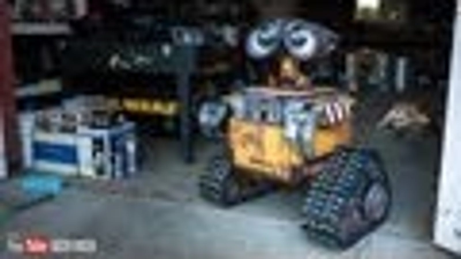 Wall-E Recreated as an Amazing Real-Life Bot