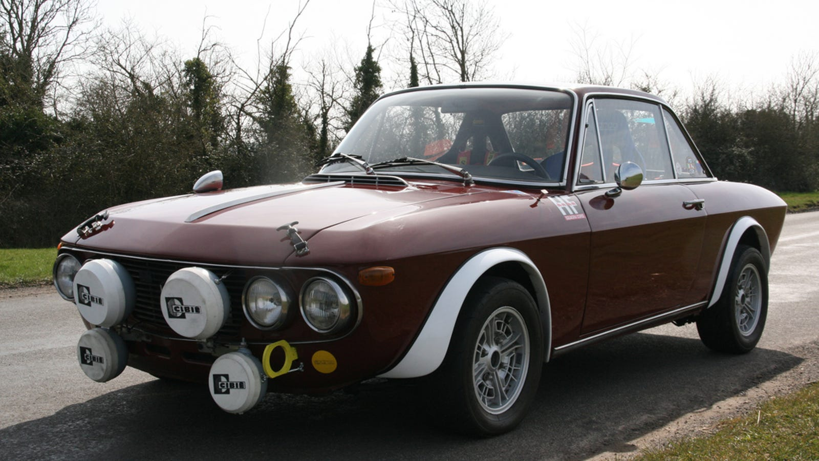 Why The 1969 Lancia Fulvia Coupe Is The Most Beautiful Car