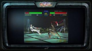 Illustration for article titled Bayonetta's BlazBlue, Virtua Fighter Cameos