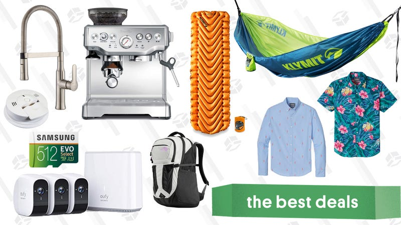 Illustration for article titled Friday's Best Deals: Super Smash Bros Ultimate's Fighter Pass, Breville Espresso Maker, YETI Coolers, and More