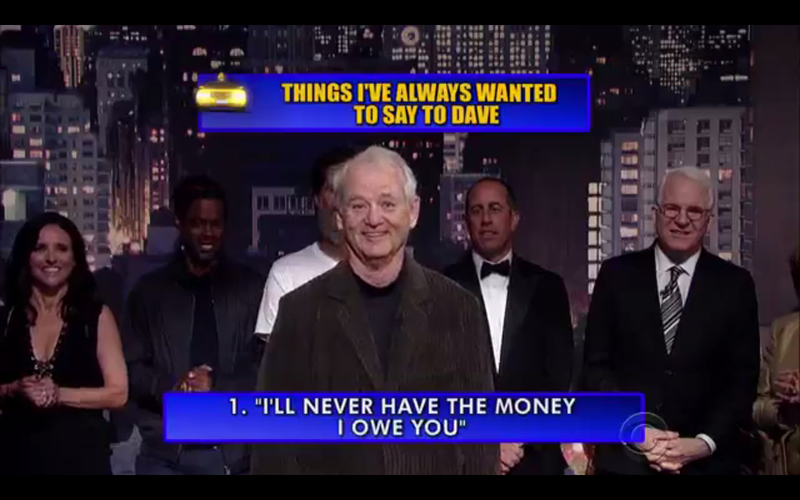 Illustration for article titled Jokes From David Letterman's Final Top 10 List, Ranked