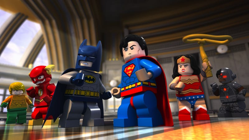 Illustration for article titled Lego DC Comics: Batman Be-Leaguered Sneak Peak