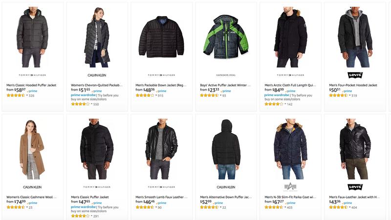 Coats and Jackets Gold Box | Amazon