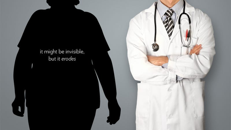 Illustration for article titled Doctors Aren't Mean to Fat Patients, They're Just Nicer to Thin Ones