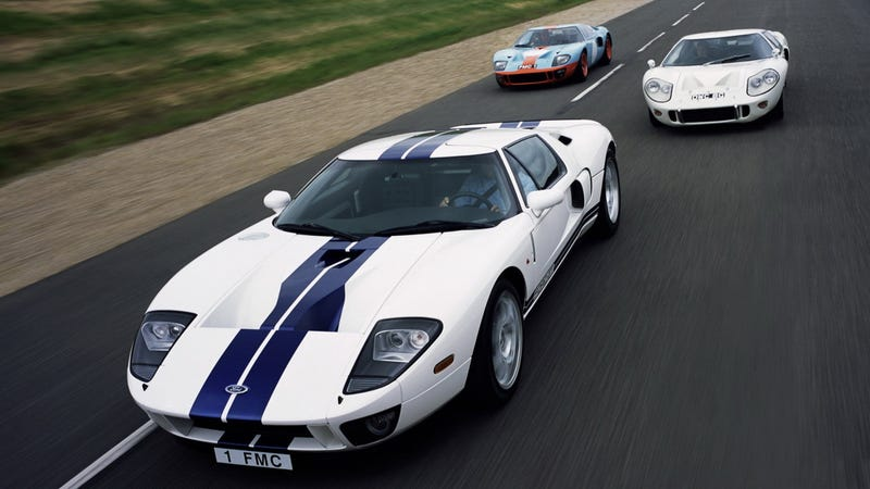 Illustration for article titled How To Ruin A Ferrari Team's Day: A New Ford GT May Be Going To Le Mans