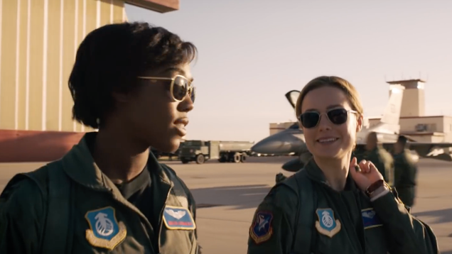 Brie Larson Believes Carol and Maria Are the  Great Love  of Captain Marvel