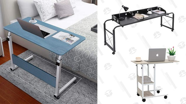 Work or Brunch in Bed With up To 80% off a Mobile Bedside Table