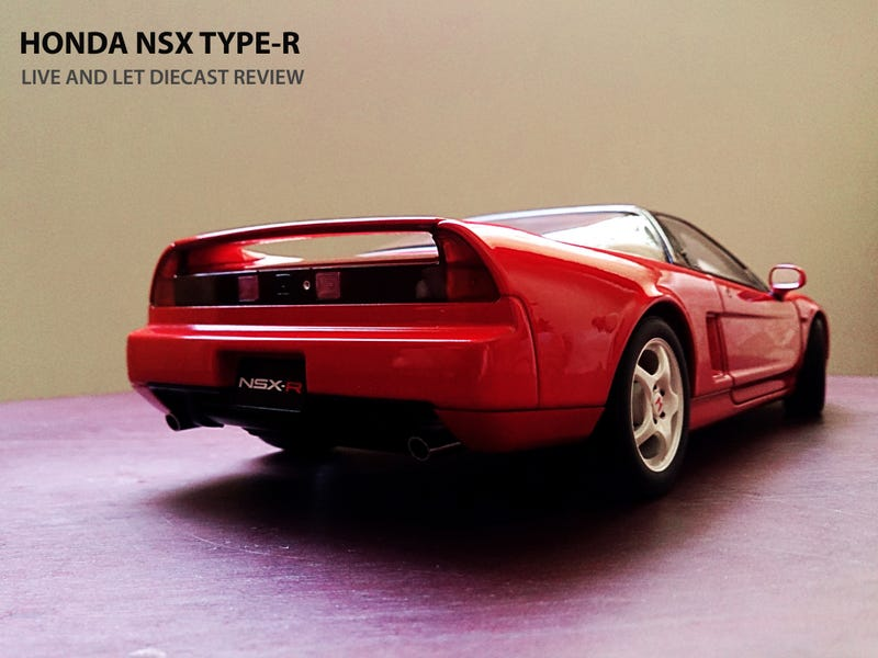Illustration for article titled AUTOart Honda NSX Type R: Review