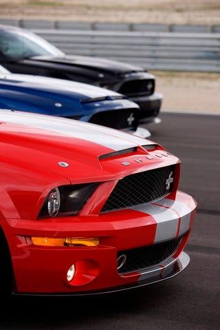 Illustration for article titled Replacement Carbon-Fiber Hood For Shelby GT500KR: $20K?!