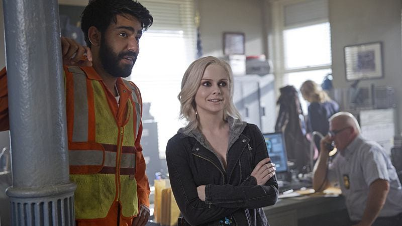 Rahul Kohli, Rose McIver/The CW