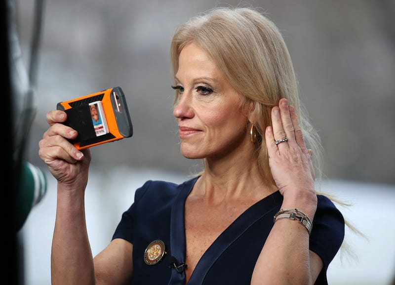 Illustration for article titled Trump's 'Opioid Czar' Kellyanne Conway HasFound the Solution to the Opioid Crisis: Ice Cream!