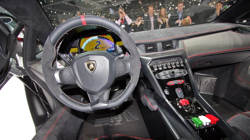 This is the lamborghini venenos interior i jumped into the mclaren p1 yesterday and since thats very spartan in order to save weight i was wondering what lamborghini put into their 46 million voltagebd Choice Image