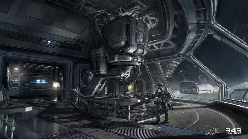 Halo 4 Concept Art by A.J. Trahan – Concept Art World