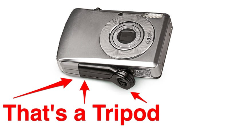 Illustration for article titled Wee Tripods Cling To Your Camera Bottom