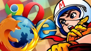 Illustration for article titled Browser Speed Tests: Firefox 7, Chrome 14, Internet Explorer 9, and Opera 11.51