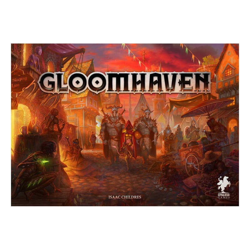 Illustration for article titled Board game night: Gloomhaven