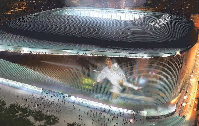 Illustration for article titled El nuevo estadio del Real Madrid parece una nave espacial y estará listo en el 2020