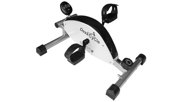 The Deskcycle Is A Space Saving Exercise Bike That Fits