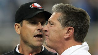 Illustration for article titled People Are Getting Dumber By The Day About The Harbaugh-Schwartz Fight